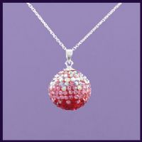 Angel Caller Swarovski Crystal Graduated Red 19mm (1)